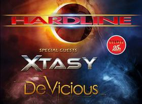 HARDLINE + Special Guests: Xtasy & DeVicious – Double Eclipse 25th Anniversary Tour