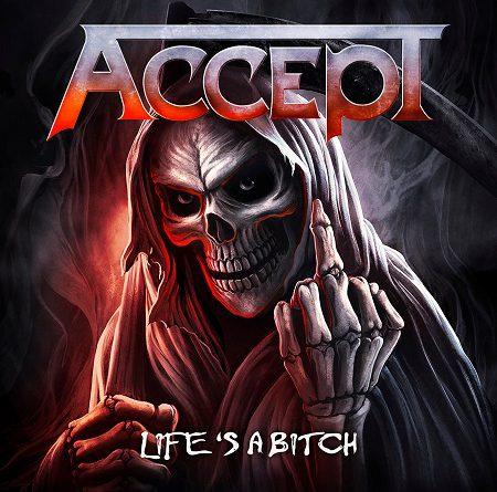 """Accept veröffentlichen am 19.04.2019 die 7″-Vinylsingle """"Life's A Bitch"""""""