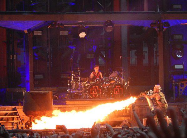 Rammstein Live im Stadion Telia Parken in Kopenhagen