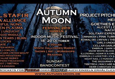 Verlosung für das AUTUMN MOON Festival in Hameln