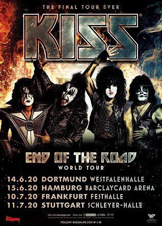 KISS zurück in Deutschland – 4 neue Konzerte der End Of The Road World Tour 2020