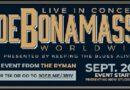 Blues-Titan JOE BONAMASSA spielt spezielles Live-Stream Konzert im legendären Ryman Auditorium in Nashville!