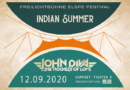 "JOHN DIVA LIVE beim ""Indian Summer"" am 12. September 2020, Freilichtbühne Elspe"