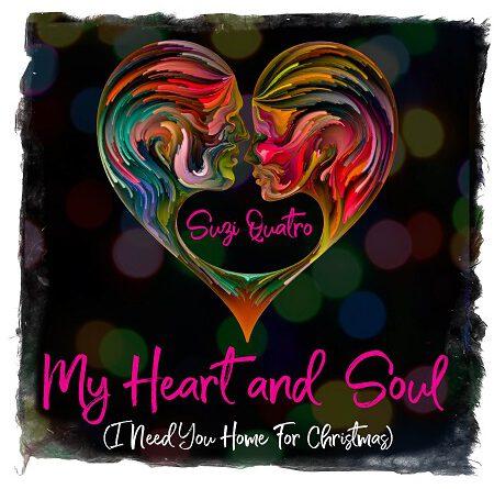 "SUZI QUATRO veröffentlicht neue Christmas Single: ""My Heart And Soul (I Need You Home For Christmas)"""