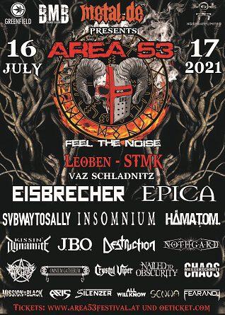 Das Area53 Festival geht -tatsächlich und Stand heute –  vom 15.-17. Juli 2021 in die vierte Runde!!!