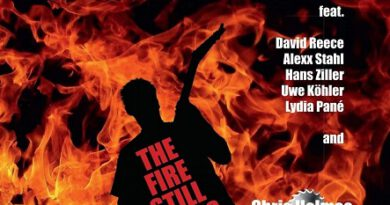 "Stephan Georg – ""The Fire Still´Burns"""