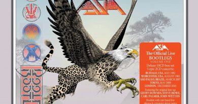 """Die Melodic-Rocker von ASIA veröffentlichen am 26.112021 """"The Official Live Bootlegs, Volume 1"""""""